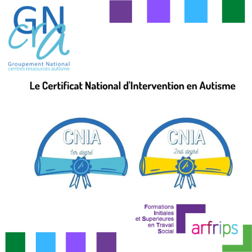 Formation Certificat national d'intervention en autisme (CNIA)